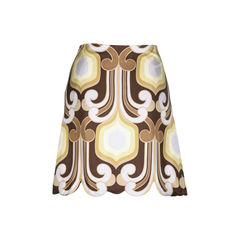 Miu miu retro print scallop skirt 2?1510637056