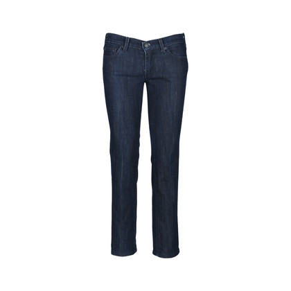 Authentic Second Hand 7 for all Mankind Rhinestone Straight Cut Jeans (PSS-071-00135)