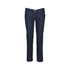 Rhinestone Straight Cut Jeans