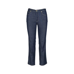 Lightweight Straight Cut Jeans