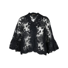 Lace Embroided Cape
