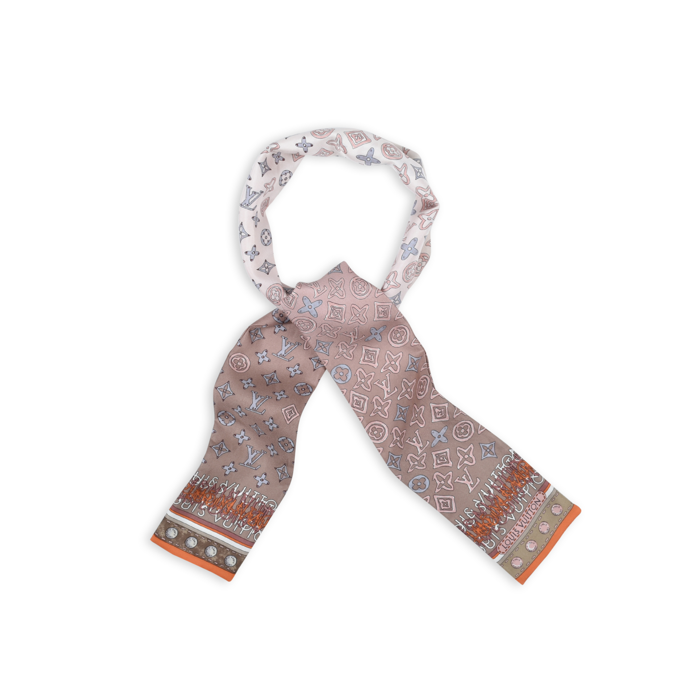 5f29ae369883 Authentic Second Hand Louis Vuitton Bandeau Twilly Scarf (PSS-247-00028)
