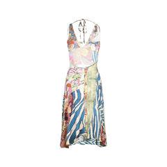 Just cavalli printed halter dress 2?1510804933