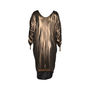 Authentic Second Hand Halston Metallic Low Back Dress (PSS-148-00019) - Thumbnail 1