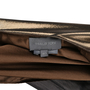 Authentic Second Hand Halston Metallic Low Back Dress (PSS-148-00019) - Thumbnail 2