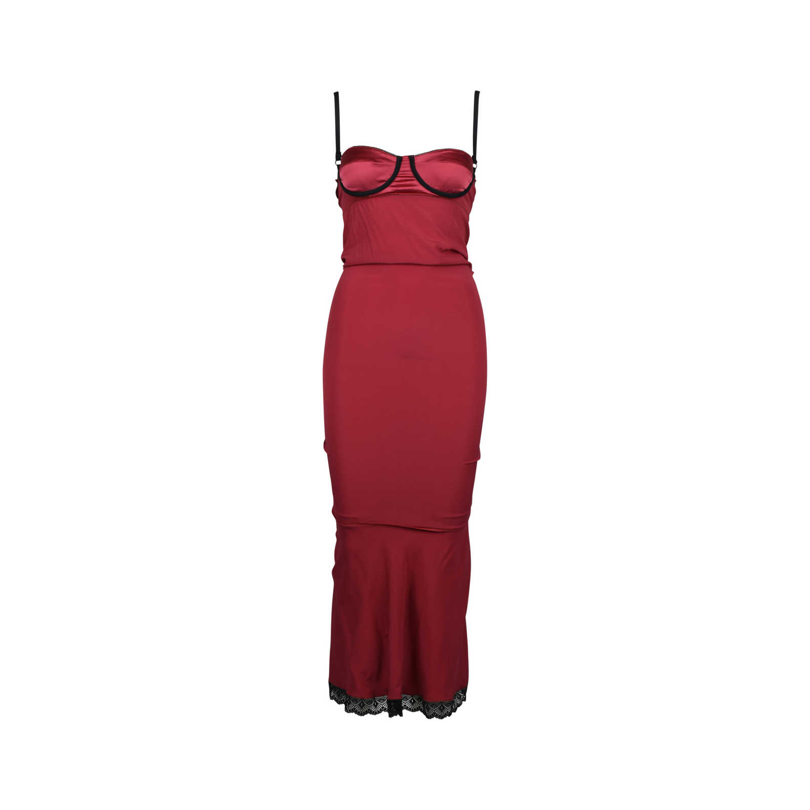 1526dd9fa54d ... Authentic Second Hand Dolce   Gabbana Bodycon Slip Dress  (PSS-148-00020) ...