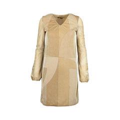 Fall 2000 Lurex Printed Dress