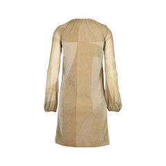 Gucci gold sparkle dress 2?1510825233