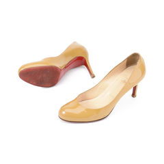 Christian louboutin patent leather pumps 2?1511149710