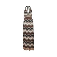 Shimmer Knit Maxi Dress