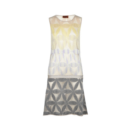 Authentic Second Hand Missoni Floral Knit Dress (PSS-049-00029)