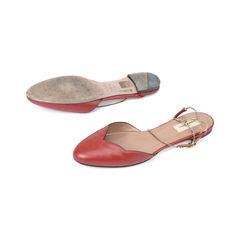 Valentino chain strap scalloped leather sandals 2?1511251247