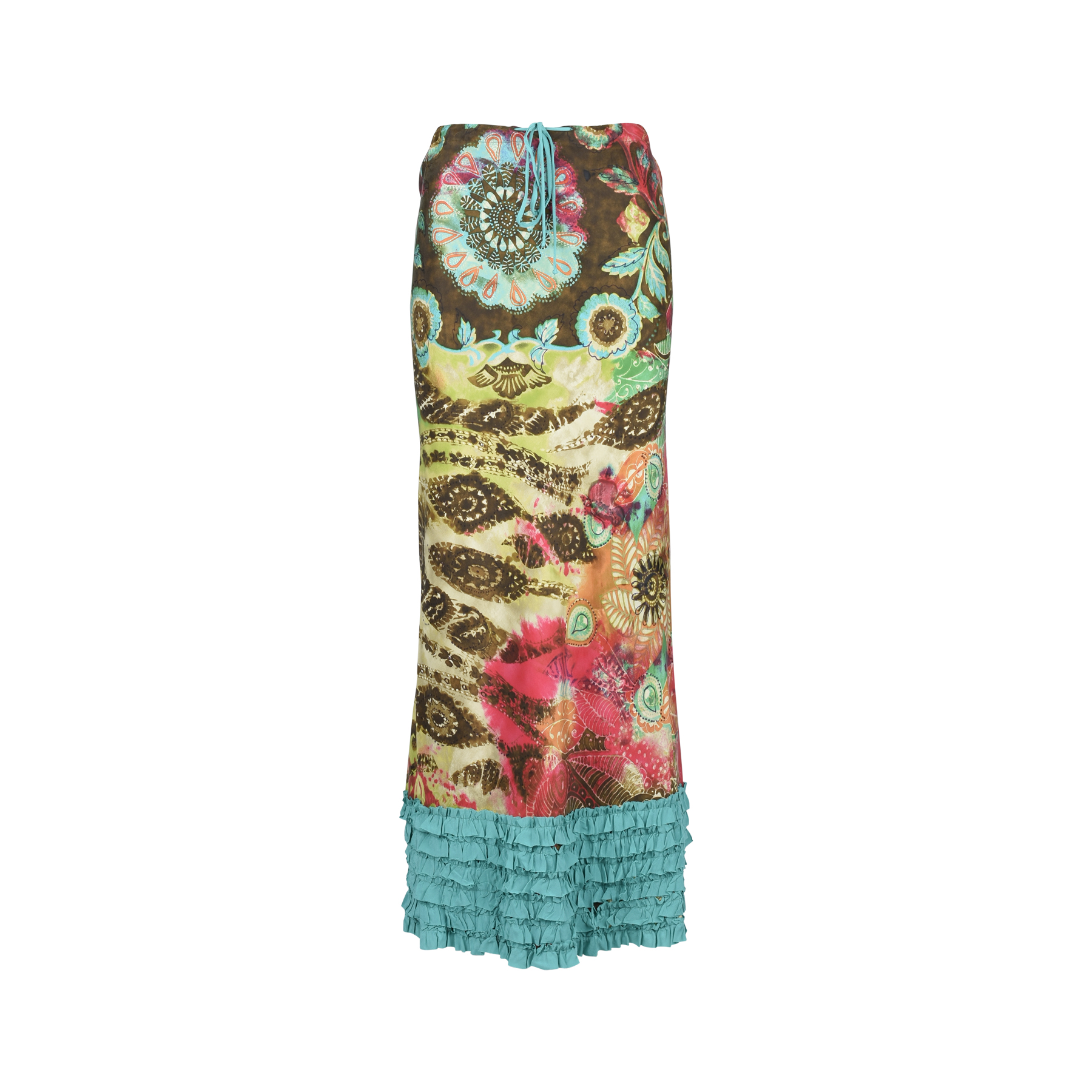 9ecf1bd24f Authentic Second Hand Etro Printed Ruffle Maxi Skirt (PSS-049-00032) - THE  FIFTH COLLECTION