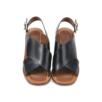 Authentic Second Hand Céline Criss Cross Sandal (PSS-393-00023)