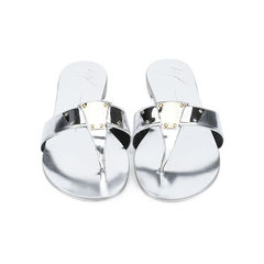 Metallic Mirror Sandals