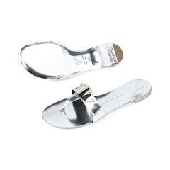 Giuseppe zanotti metallic mirror sandals 2?1511255662