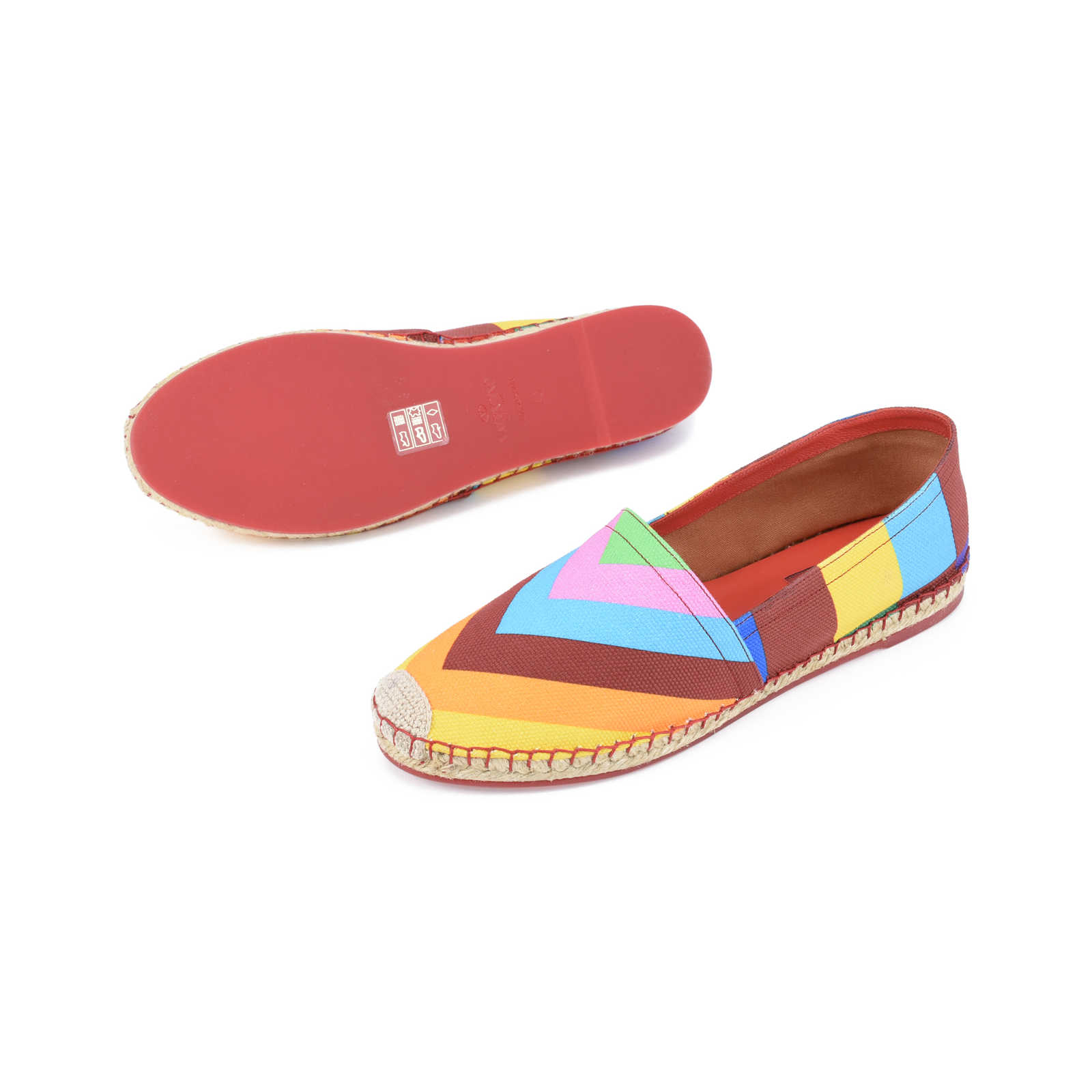 Valentino 1973 Canvas Espadrilles Sale Browse 6L5z6gr