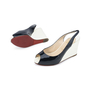 Authentic Second Hand Christian Louboutin No Prive Slingback Wedge (PSS-393-00046) - Thumbnail 3
