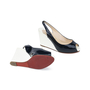 Authentic Second Hand Christian Louboutin No Prive Slingback Wedge (PSS-393-00046) - Thumbnail 4