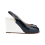 Authentic Second Hand Christian Louboutin No Prive Slingback Wedge (PSS-393-00046) - Thumbnail 1