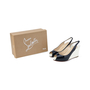 Authentic Second Hand Christian Louboutin No Prive Slingback Wedge (PSS-393-00046) - Thumbnail 5