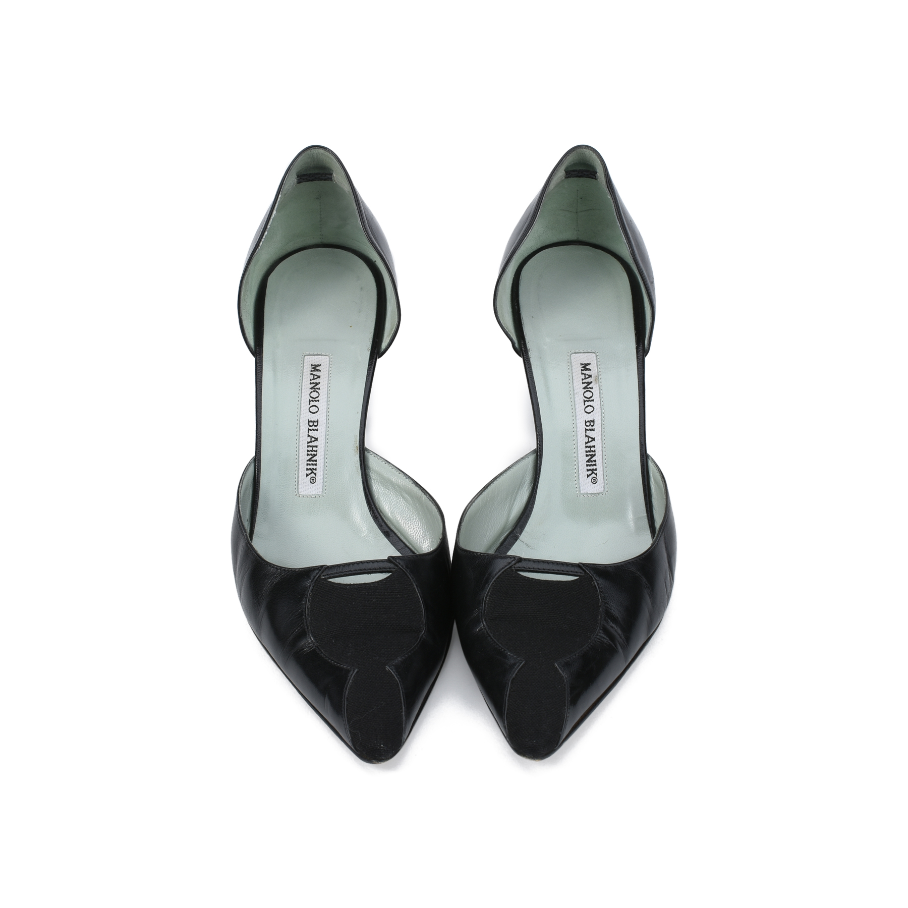 bb6a6273412 Authentic Second Hand Manolo Blahnik D Orsay Pumps (PSS-393-00031 ...