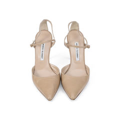 Pointed Ankle-strap D'Orsay Pumps