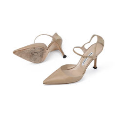 Manolo blahnik pointed ankl strap d orsay pumps 2?1511256822