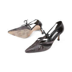 Manolo blahnik pointed python pumps 2?1511257074