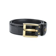 Etienne aigner leather skinny belt 2?1511260904