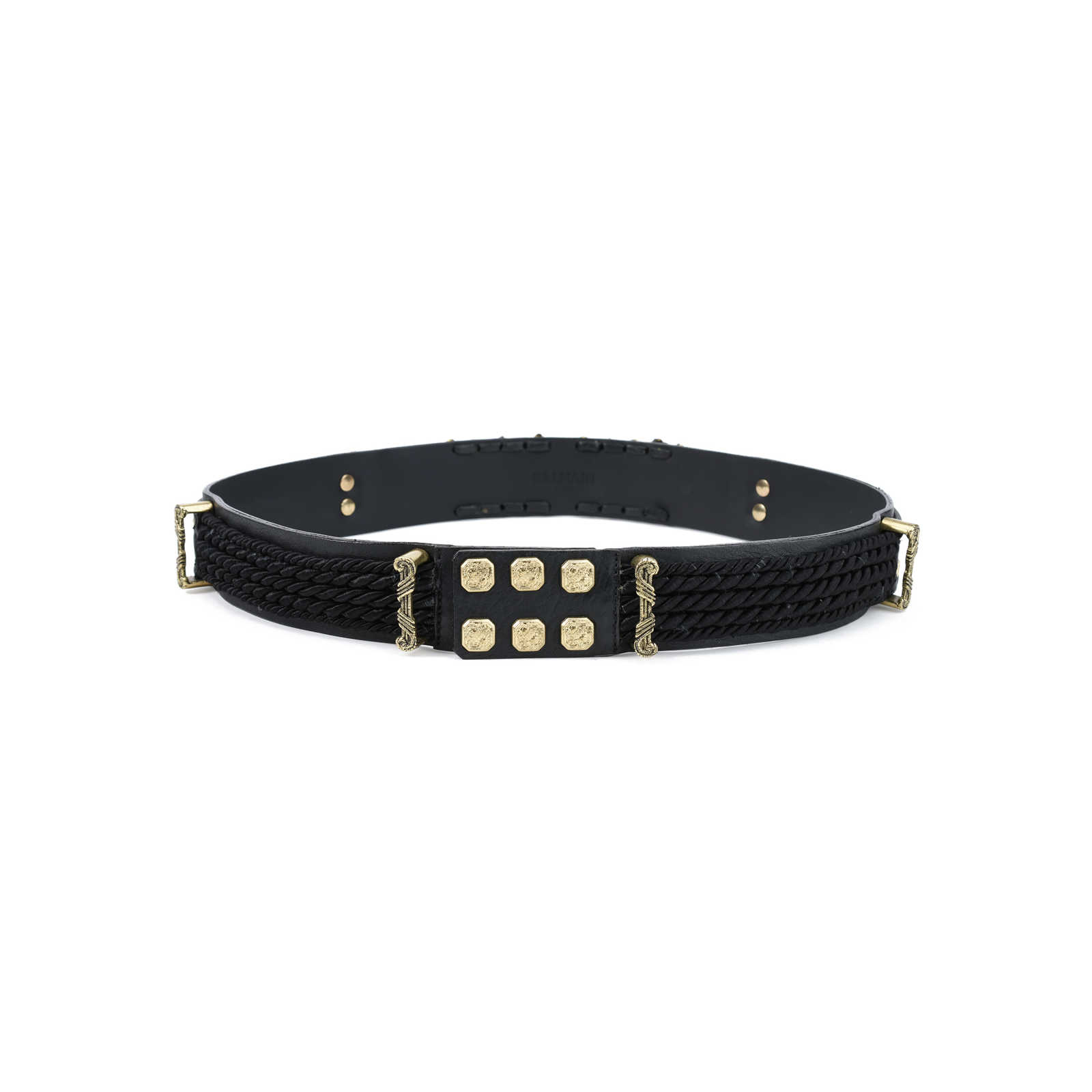 Gold-tone Leather Belt - FR40 Balmain hOZDx