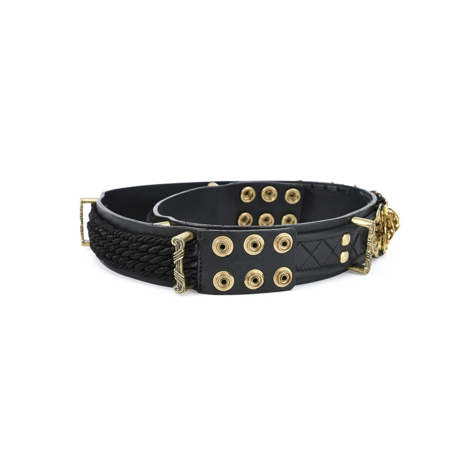 Gold-tone Leather Belt - FR40 Balmain HkJnM