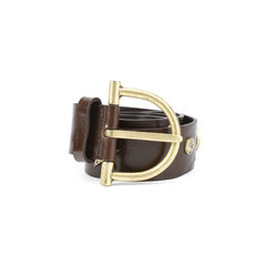John galliano studded leather belt 2?1511325907