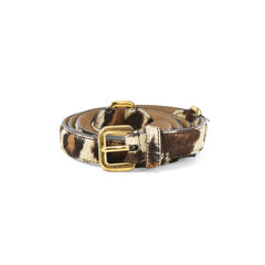 Prada animal print skinny belt 2?1511326193