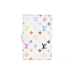 Louis vuitton white monogram multicolore carnet de bal mini address book 2?1511326929