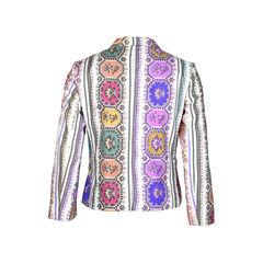 Roberto cavalli printed blazer 2?1511429424