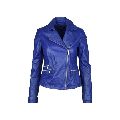 Authentic Second Hand Armani Jeans Leather Jacket (PSS-247-00049)