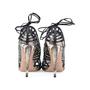 Authentic Second Hand Aquazzura Lola Lace-up Elaphe and Leather Sandal (PSS-191-00019) - Thumbnail 2