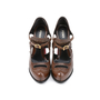 Authentic Second Hand Fendi Colorblock Brogue Pumps (PSS-392-00004) - Thumbnail 0