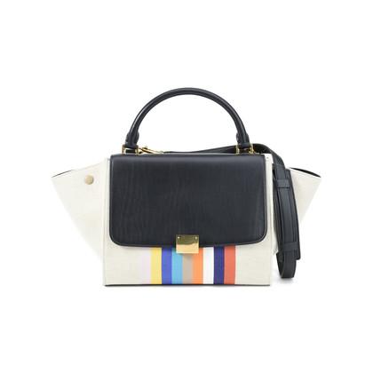 Celine Textile Trapeze Handbag