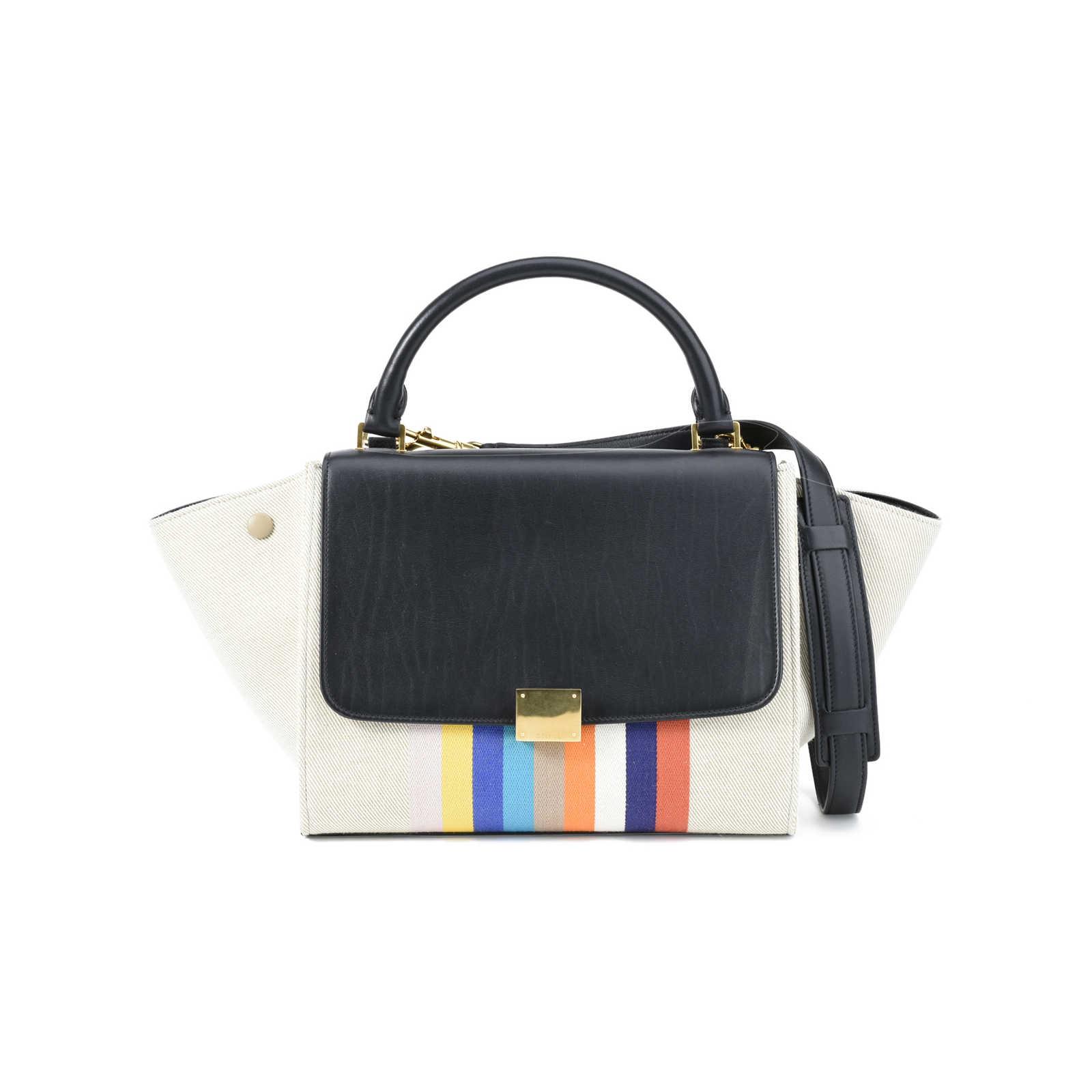 Authentic Second Hand Céline Textile Tze Handbag Pss 392 00006 Thumbnail