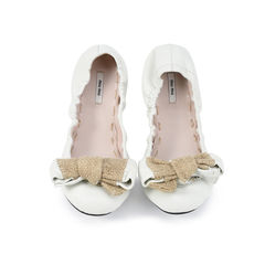 Bow Ballet Stretch Flats