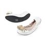 Authentic Second Hand Miu Miu Bow Ballet Stretch Flats (PSS-392-00005) - Thumbnail 3