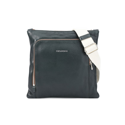 Authentic Second Hand Dolce & Gabbana Zippered Crossbody Bag (PSS-408-00005)