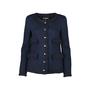 Chanel Navy Tweed Jacket - Thumbnail 0