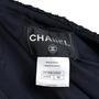 Chanel Navy Tweed Jacket - Thumbnail 2