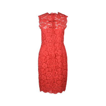 Authentic Second Hand Valentino Lace Sleeveless Sheath Dress (PSS-286-00049)