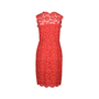 Authentic Second Hand Valentino Lace Sleeveless Sheath Dress (PSS-286-00049) - Thumbnail 1