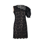 Authentic Second Hand Valentino One-Shoulder Floral Lace Dress (PSS-286-00048) - Thumbnail 0