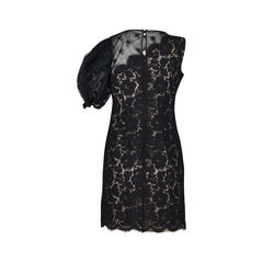 Valentino one shoulder lace dress 2?1511777422